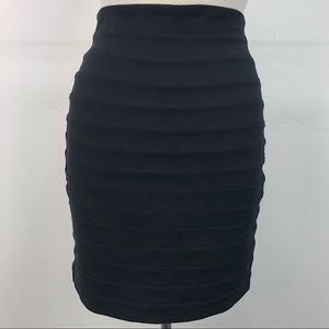NWT Express Black High Waist Bandage Pencil Skirt